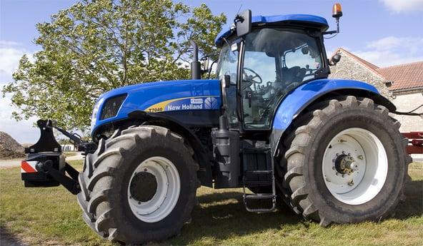 Aumentar el volumen de los neumáticos para dar un impulso a tu tractor